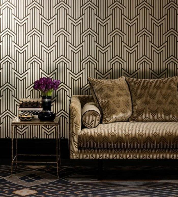papier-peint-géométrique-métropole-tapisserie-murale-de-luxe