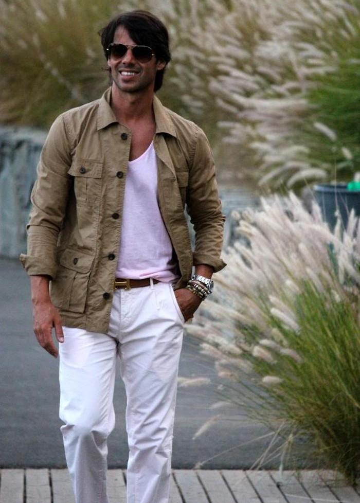 pardessus homme chemise cargo kaki tee shirt rose homme