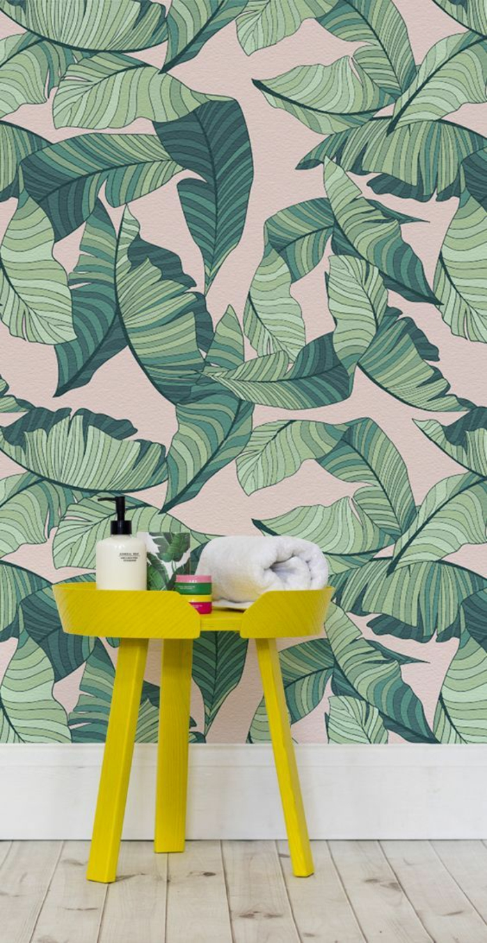 parque-clair-papier-peint-feuille-de-bananier