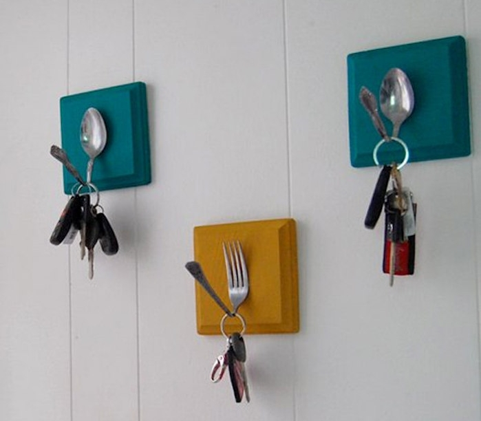 patere design porte manteau mural pateres murales aimant clés