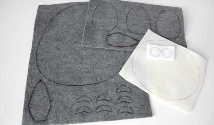 patrons-à-poser-sur-le-tissu-feutrine-pour-tracer-les-contours-du-lapin-doudou-exemple-de-doudou-a-faire-soi-meme