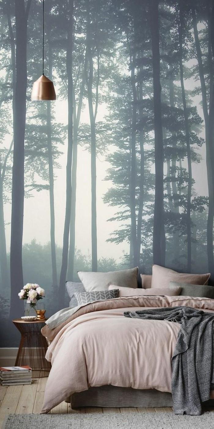 1001 mod les de papier peint 3d originaux et modernes for Papier peint pour chambre a coucher