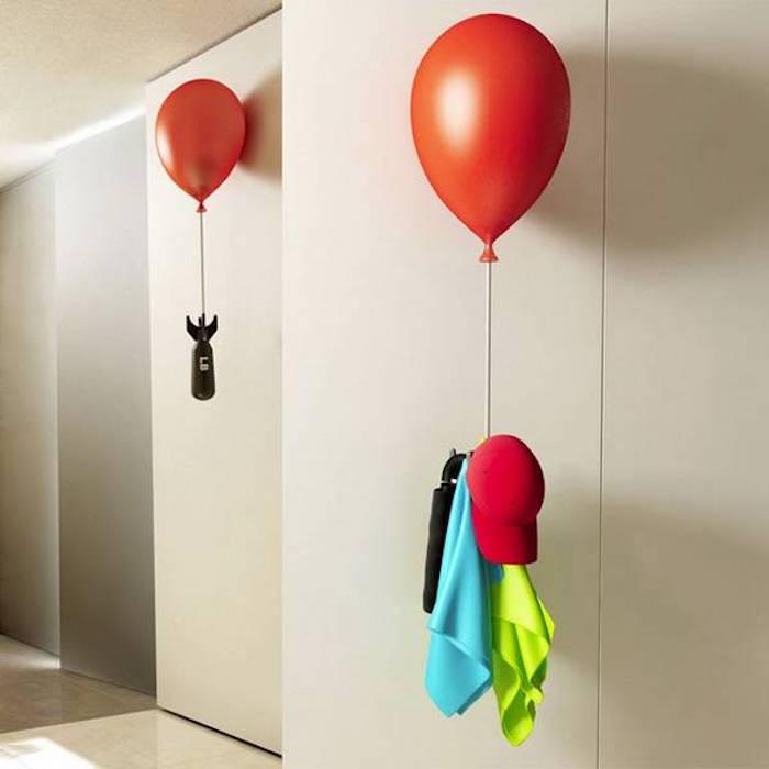 porte manteau design idee patere originale ballon