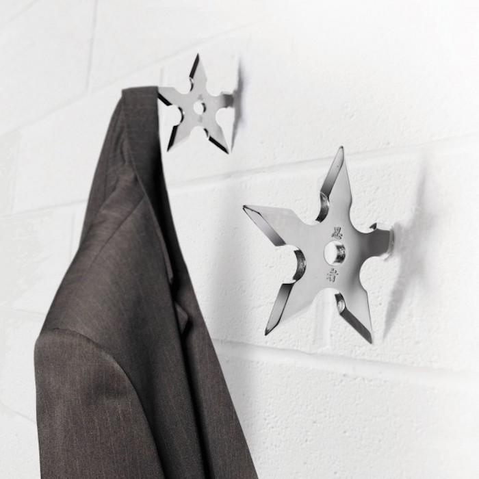 porte manteau patere mur design original