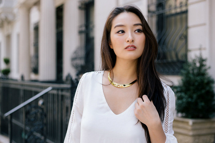Comment s habiller chic avec collier femme tendance