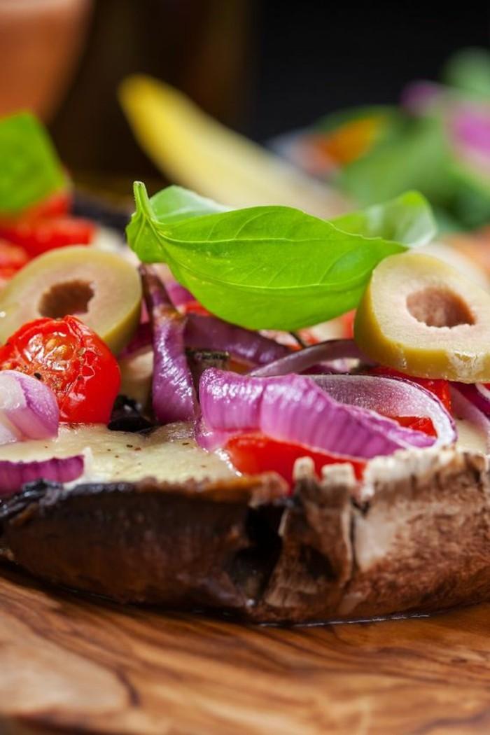 recette-champignon-farci-aux-olives-et-avec-oignon