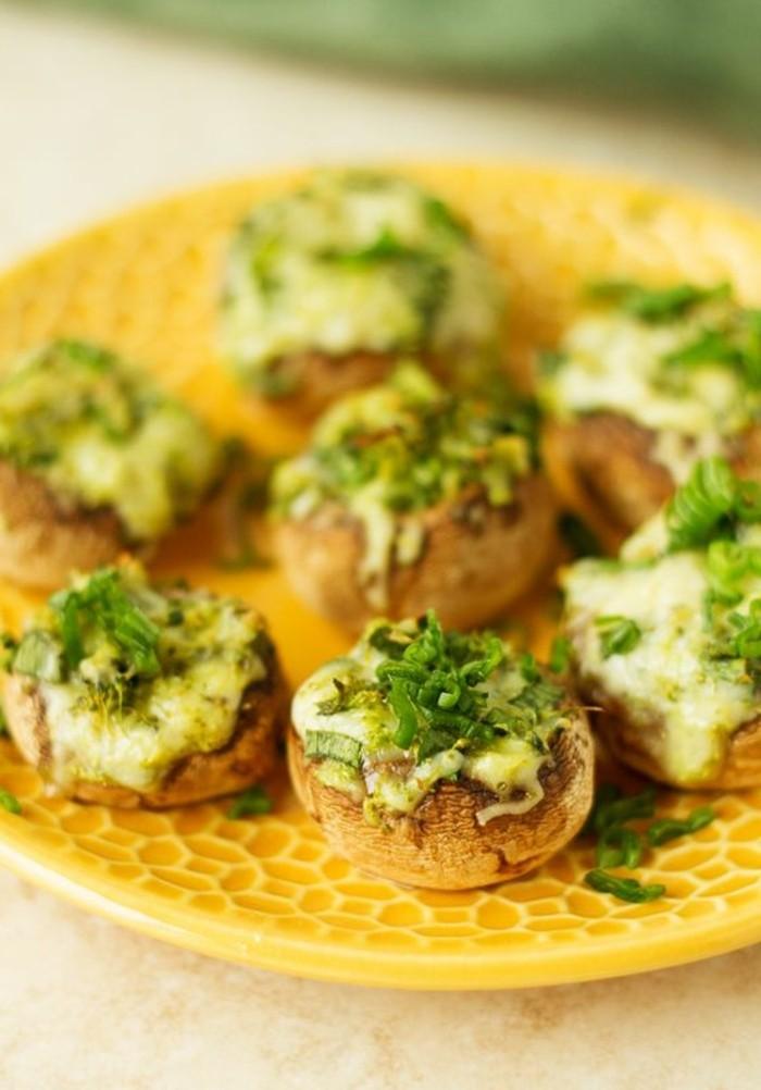recette-champignon-farci-recettes-goûteux-de-délices-salées