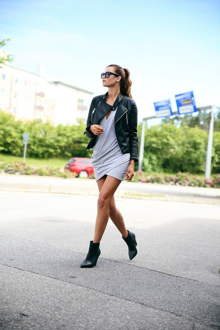 robe bottine stunning tenue blazer noir robe fourreau bordeaux bottines en cuir intrieur robe. Black Bedroom Furniture Sets. Home Design Ideas