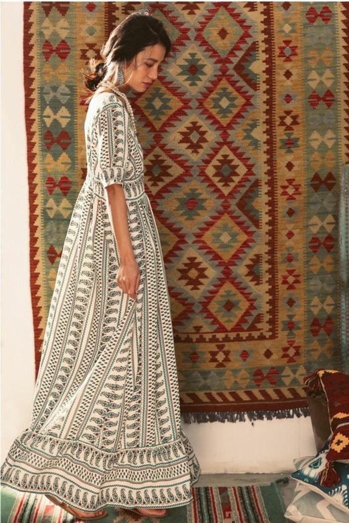 robe-longue-décontractée-tenue-decontracte-bohème-chic-jolie-robe