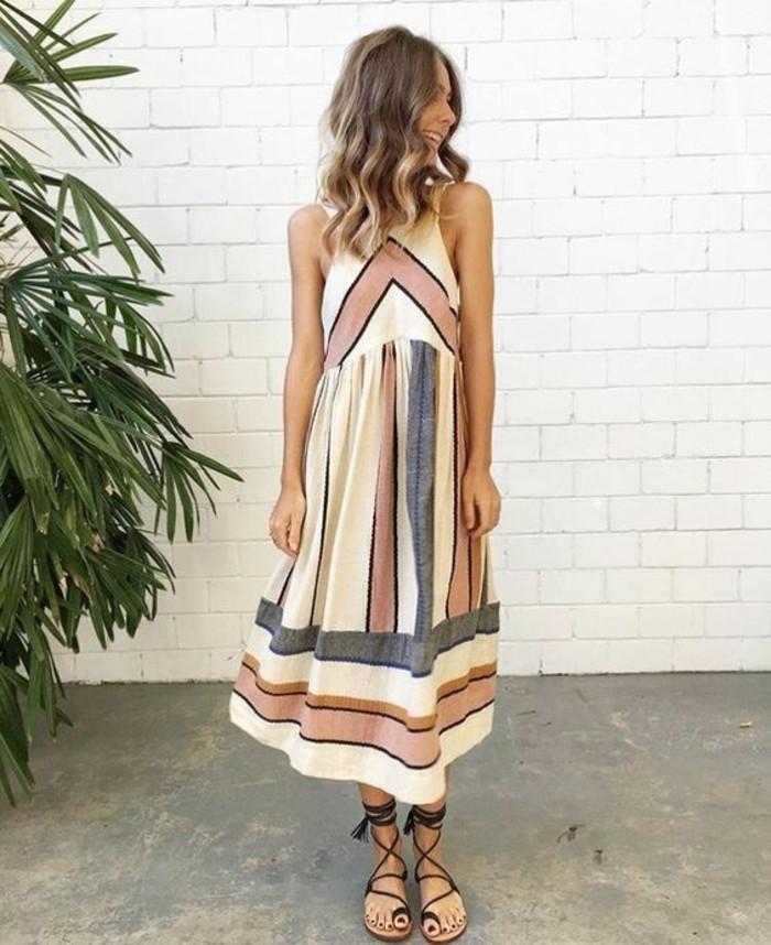 robe-longue-décontractée-tenue-decontracte-idee-comment-s-habiller-ete-grece
