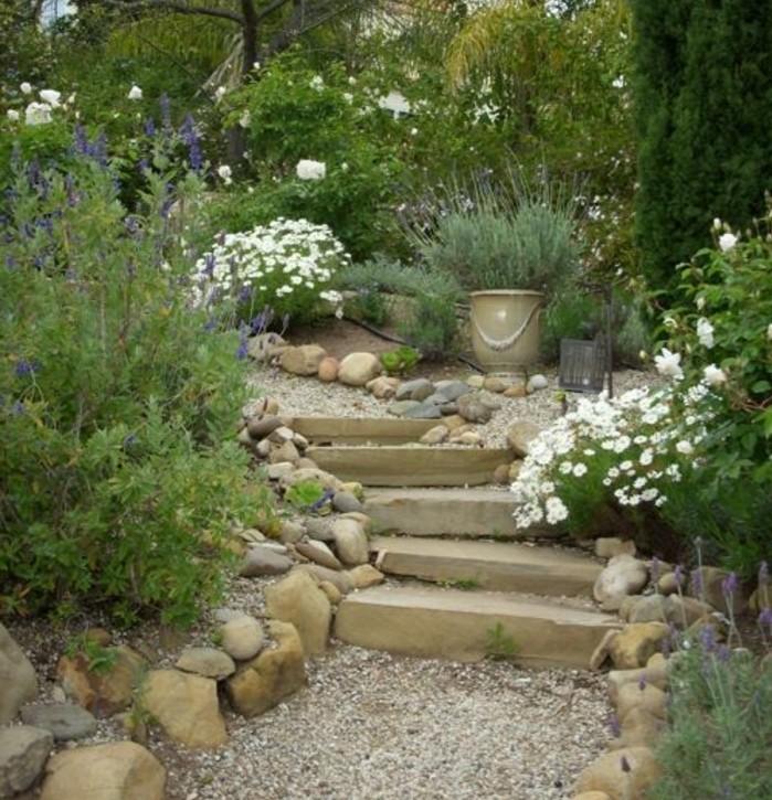 Jardin rocaille zen id es d coration int rieure for Modele de rocaille de jardin
