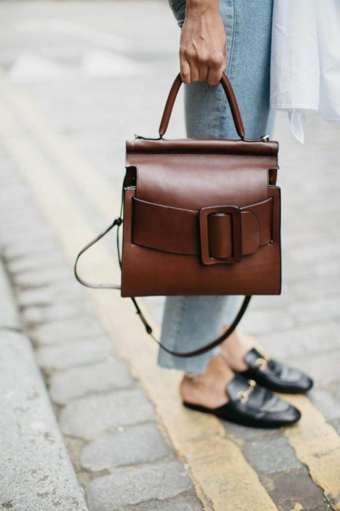 sacs-a-mains-femme-Soraya-Bachtar-en-cuir-marron