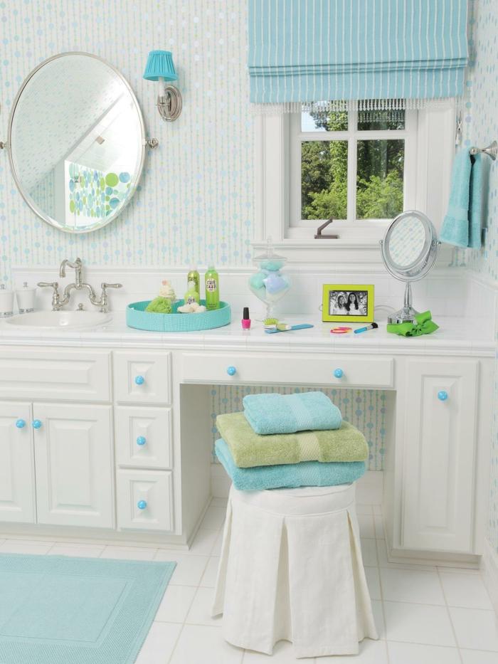 Salle de bain bleu ciel d coration de maison contemporaine for Bleu salle de bain