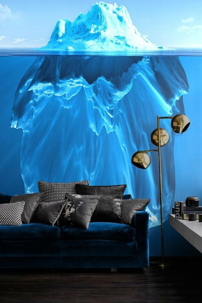 salon-moderne-au-papier-peint-3d-effet-trompe-l'oeil-