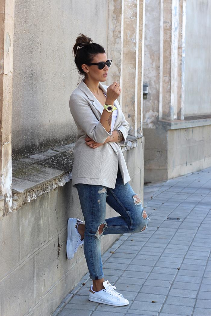 Comment porter des Stan Smith – 85 idées féminines pour un look impressionnant | Mode ...