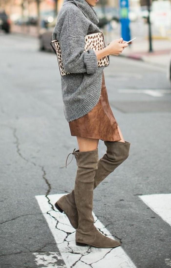 superbe-idée-comment-s-habiller-en-hiver-tenue-femme-hiver