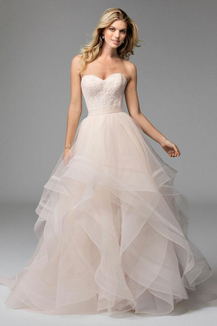 superbe-robe-de-mariée-bustier-transparent-robe-de-mariée-simple
