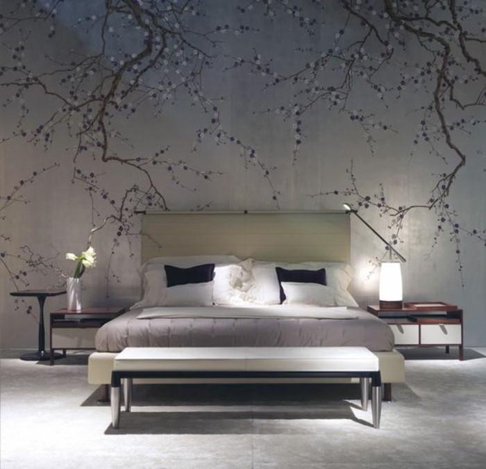 tapisserie-murale-cerisier-fleuri-papier-peint-paysage