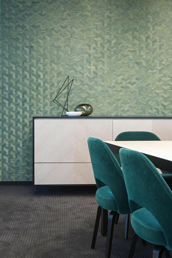 Déco Chambre Verte Et Blanc : Modèles de papier peint d originaux et modernes