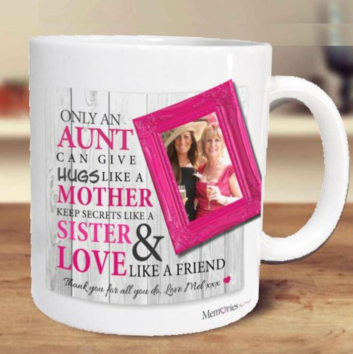 tasse personnalisée, cadeau pour toutes les tantes