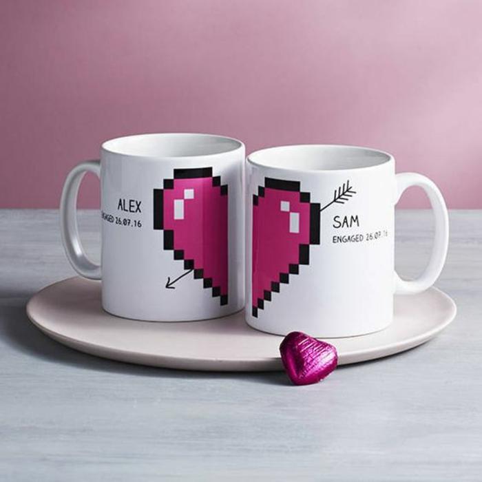tasse personnalisée, la vie en couple, cadeau de noces