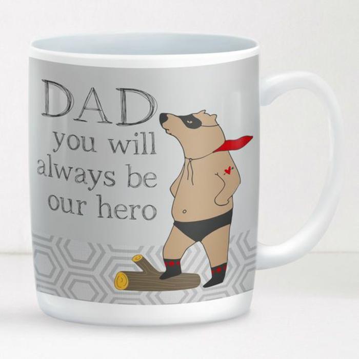 tasse personnalisée, cadeau pour les pères