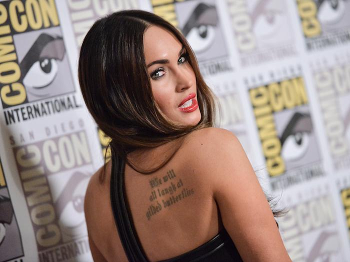 tatouage ephemere femme non permanent tattoos tatouages dos idée