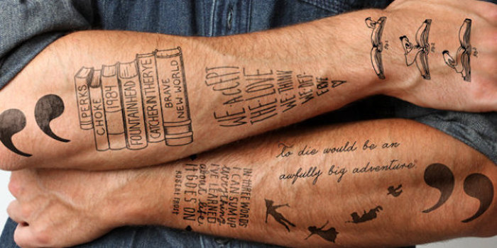1001 Idees Le Tatouage Ephemere Satisfait Ou Efface