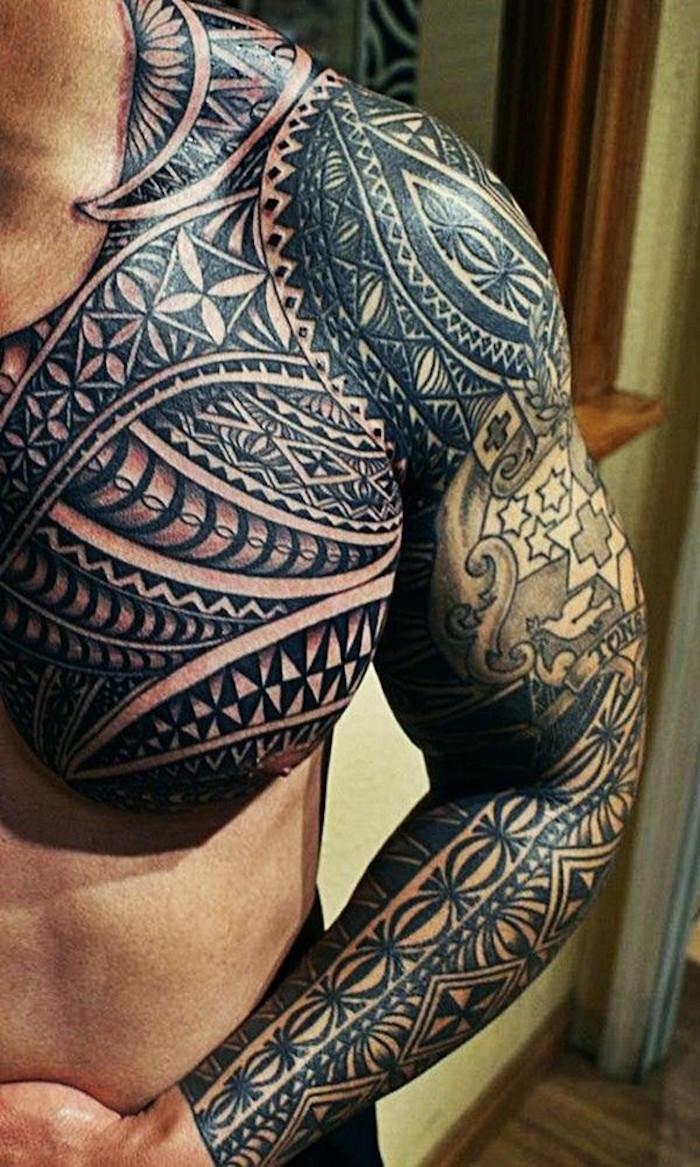 Bracelet Polynésien Tatouage à ▷ 1001+ idées | tatouage polynésien – l'art ancestral qui marque