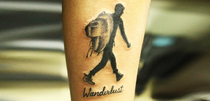 tatouage voyage guide du routard voyageur wanderlust