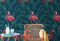 Faites entrer le goût d'exotisme avec le papier peint tropical