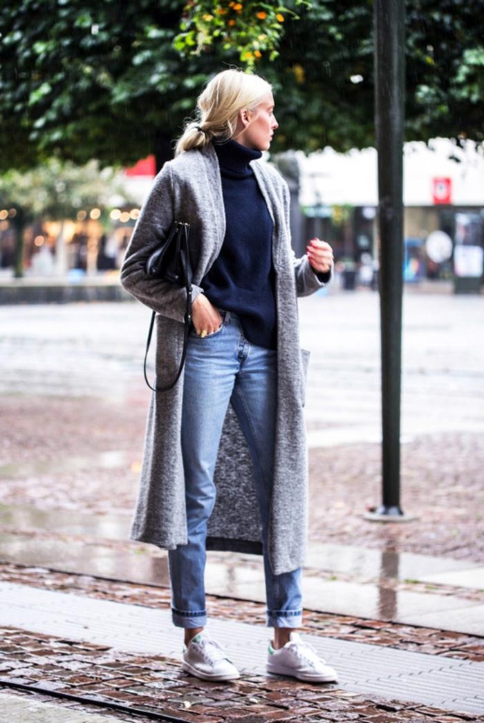 bcaa1f5ad438 Comment porter des Stan Smith – 85 idées féminines pour un look  impressionnant