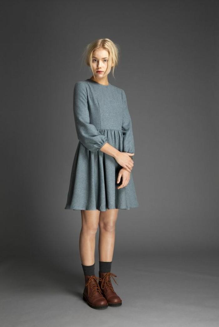 tenue-décontractée-chic-femme-tenue-decontracté-idee-gris