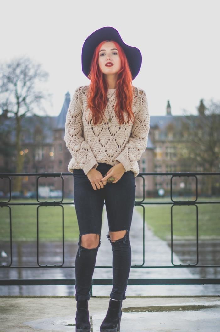tenue-simple-femme-idee-de-tenue-femme-bien-habillée-image