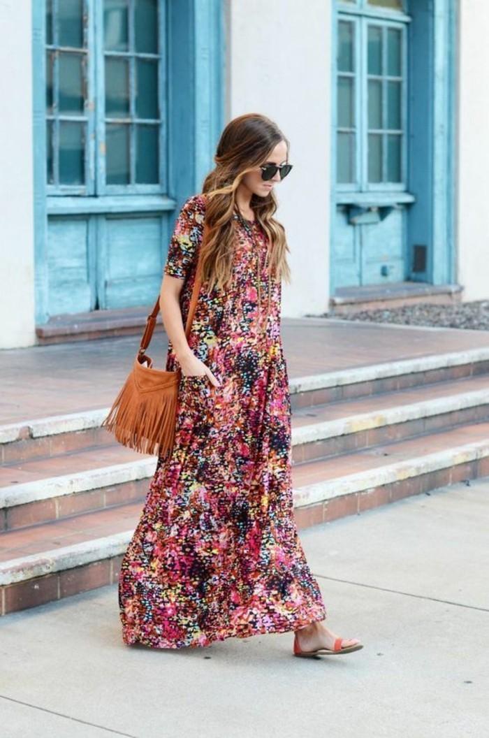 tenue-soirée-décontractée-robe-decontractee-robe-fleurie