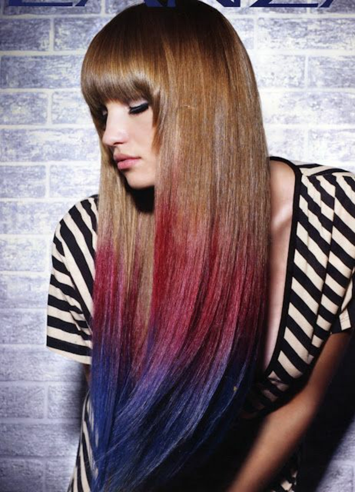 1001 fa ons d 39 adopter la coloration des cheveux tie and dye