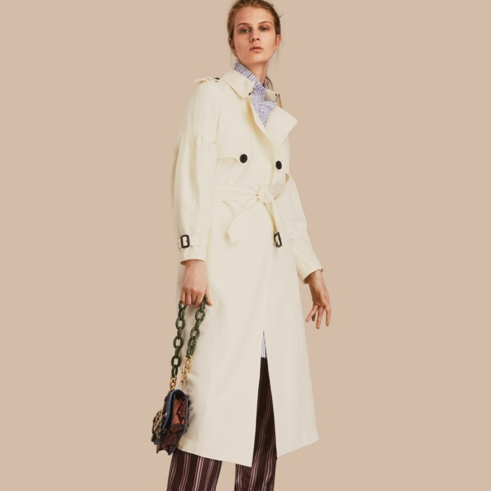 trench-femme-blanc-crème-Burberry