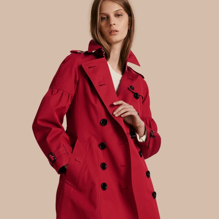 trench-femme-rouge-Burberry-femme-active