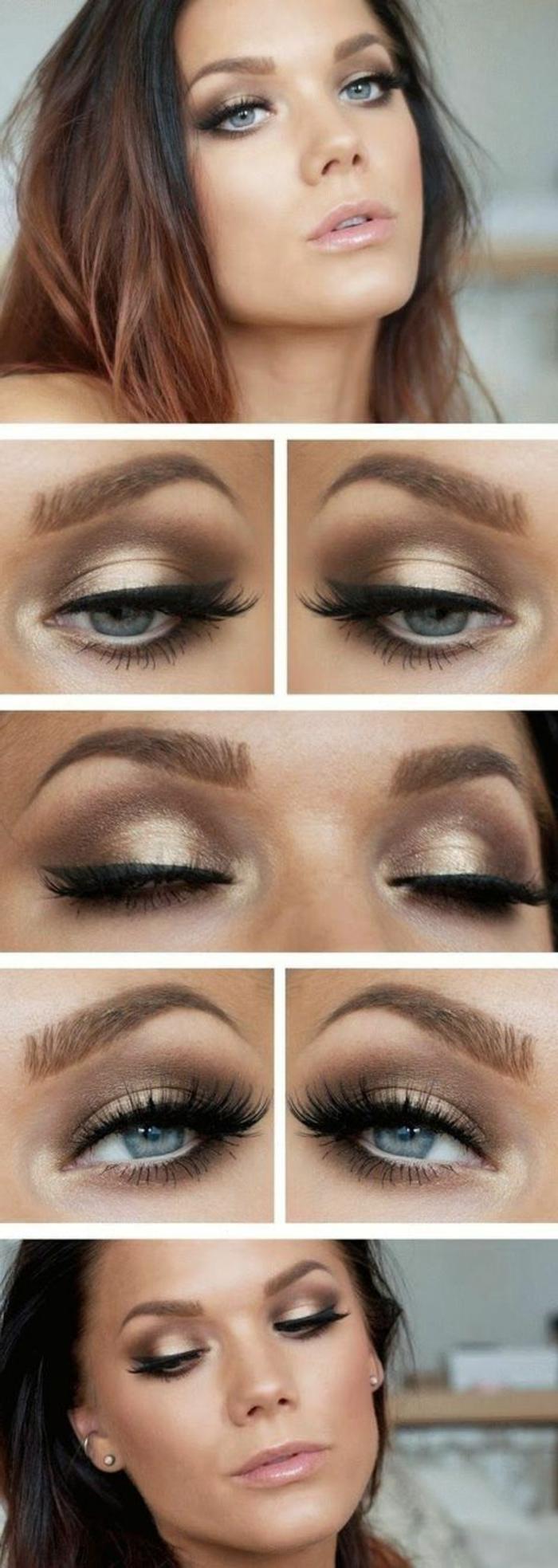 tuto-maquillage-marron-et-doré-pour-yeux-bleus