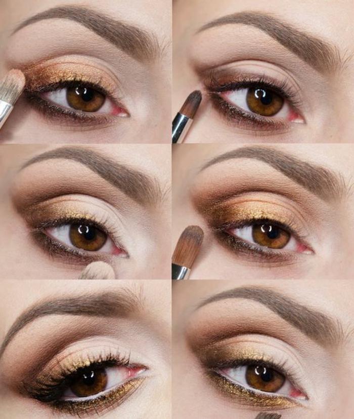 tuto-maquillage-yeux-marrons-se-maquiller-pour-une-fête