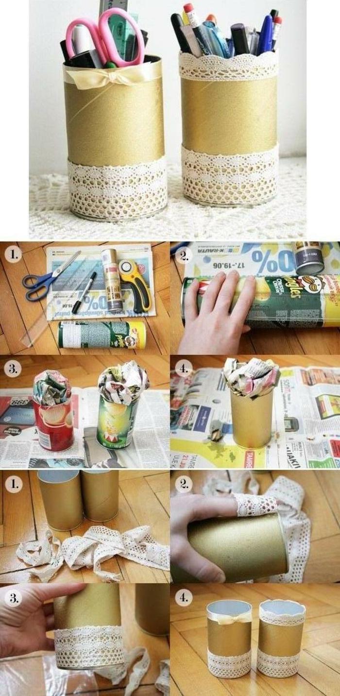 une-boite-a-chips-pot-a-crayon-idée-comment-faire-un-pot-a-crayon-tutoriel-etape-par-etape