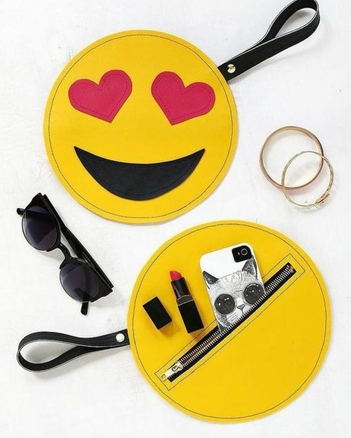 une-idee-de-cadeau-a-fabriquer-soi-meme-pour-sa-meilleure-amie-idée-diy-pochette-en-forme-ronde-design-créatif