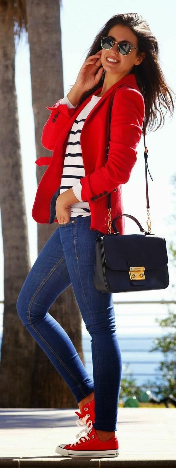veste ete femme rouge pour rehausser votre allure