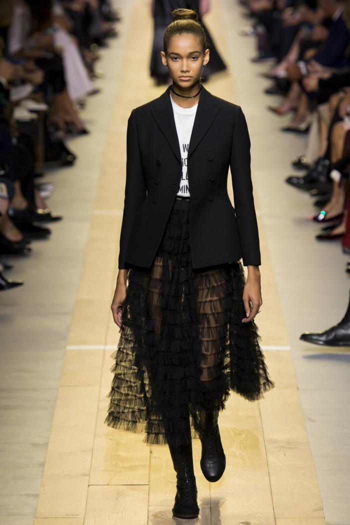 veste d été femme noire stylée