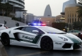 La voiture de police à Dubaï – 46 photos des superscars luxueuses