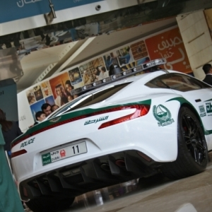 La voiture de police à Dubaï - 46 photos des superscars luxueuses