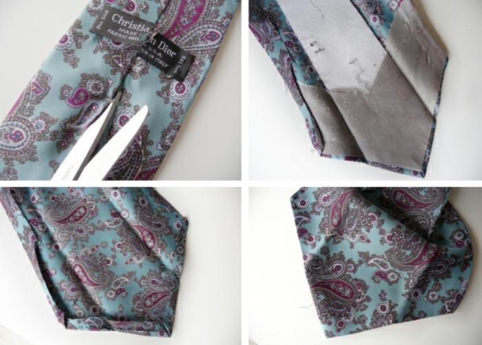 Cloches paques oeuf pâques idée personnalisée bande de soie cravate