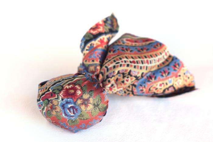 Peindre des oeufs pour pâques originaux cravate oeufs