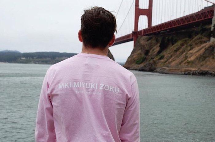 tee shirt Mki Miyuki Zoku de mode anglaise