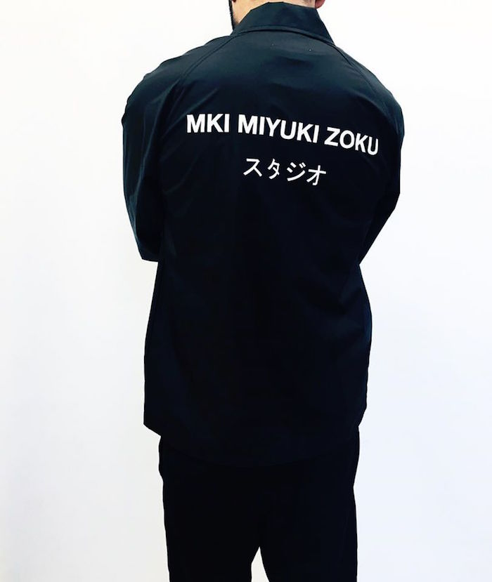 veste mode anglaise miyuki-zoku noir marque anglaise